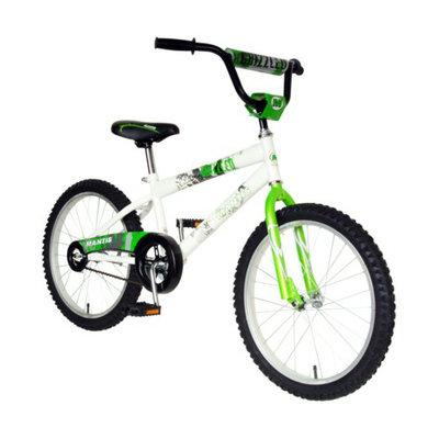 Mantis Boy's Grizzled 20 Bike - Green/White