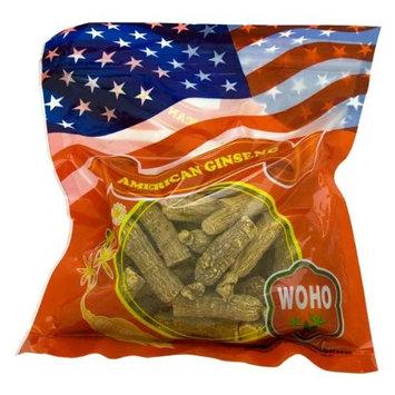 WOHO American Ginseng #130.8 Half Short Extra Large 8oz Bag
