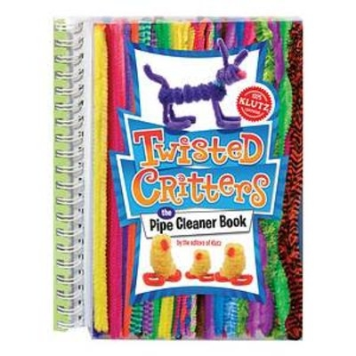 Klutz Twisted Critters the Pipe Cleaner Book Ages 6+