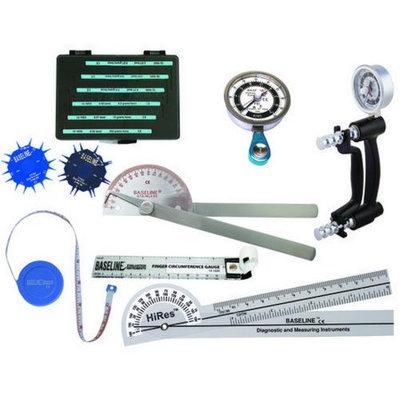 Fabrication Enterprises 12-0127 Baseline Hand Evaluation - 8 Piece Set