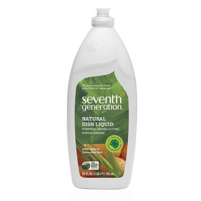 Seventh Generation Natural Dish LiquidLemongrass and Clementine Zest