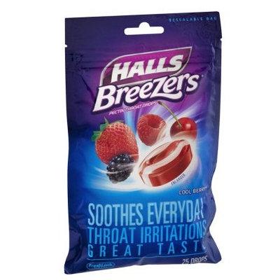 HALLS Breezers Cool Berry