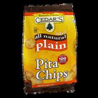 Cedar's Baked Pita Chips Plain