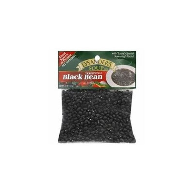 LYSANDERS 72372 LYSANDERS MIX SOUP BLACK BEAN - Pack of 6 - 11 OZ
