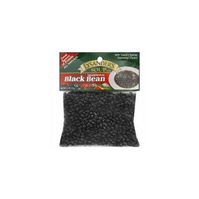LYSANDERS 72372 LYSANDERS MIX SOUP BLACK BEAN - Pack of 6 - 11 OZ