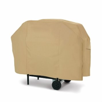 Terrazzo Collection Large Tan Barbecue Cart Cover 53922