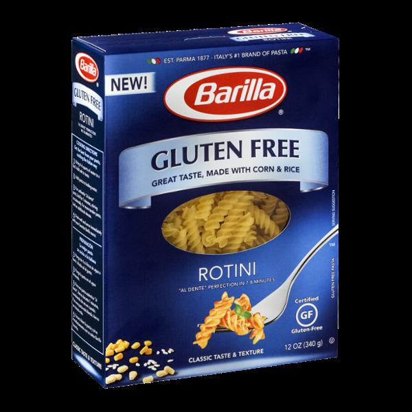 Barilla Pasta Gluten Free Rotini