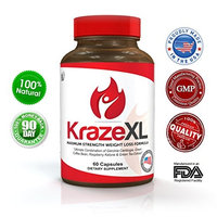 Pure Results Nutrition BEST Natural Weight Loss Product, Appetite Suppressant, Fat Burner & Metabolism Booster! Powerful Raspberry Ketones, Green Coffee Bean, Garcinia Cambogia & More. Order Now! (30 Day Supply of KrazeXL)