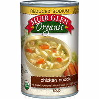 Muir Glen Organic Chicken Noodle Reduced Sodium Soup