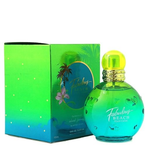 Diamond Collection Fabulous BEACH Impression & Version of Britney Spears Island Fantasy for Women 3.4 oz