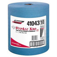 Kimberly-Clark Professional KIM41043 Blue WYPALL X80 Shop Wipers