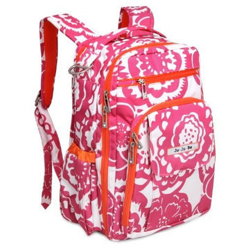 Ju Ju Be Ju-Ju-Be Be Right Back Backpack, Fuchsia Blossoms