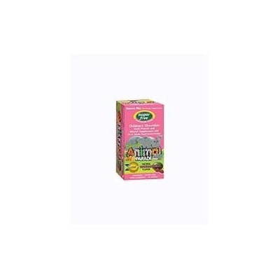 Nature's Plus Animal Parade Sugar Free Children's Chewable Multi Natural Watermelon - 90 Chewable Tablets