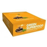 Amazing Grass Green SuperFood Energy Bars, Chocolate Peanut