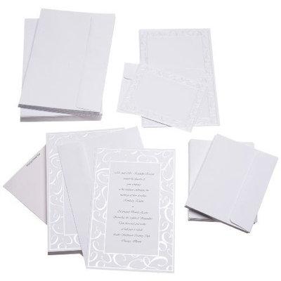 Wilton Elegant Swirls Wedding Invitation Kit [Elegant Swirls]