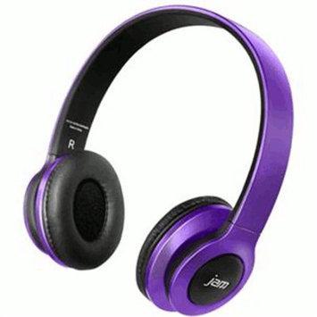 Homedics Jam Transit Bluetooth Headphones - Purple - Mini-phone - Wired/wireless - Bluetooth - 30 Ft - Over-the-head - Binaural - Circumaural (hx-hp420pu)