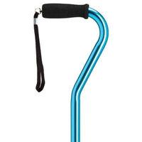 Harvy Men Stylish Blue Metallic Cane -Affordable Gift! Item #DHAR-9051902