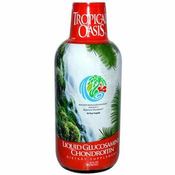 Tropical Oasis Liquid Glucosamine Chondroitin 16 fl oz