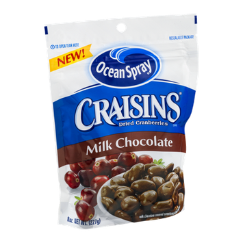 Ocean Spray Craisins Dried Cranberries Milk Chocolate