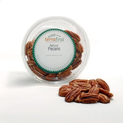 Terrafina All Natural Pecans, Halves, 5-Ounce Tubs (Pack of 4)