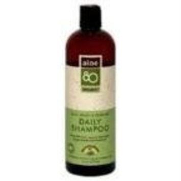 Aloe Vera 80 Lily of the Desert Aloe 80 Organics Shampoo, Daily, Aloe, Lemon & Rosemary, 16-Ounce