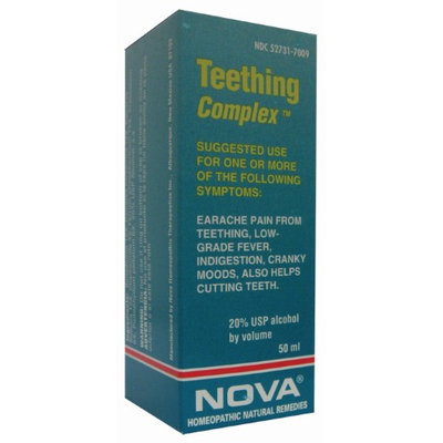 Nova Homeopathic Teething Complex 1.7 OZ