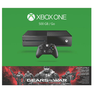 Xbox One 500GB Gears Of War Ultimate Edition Bundle - Black