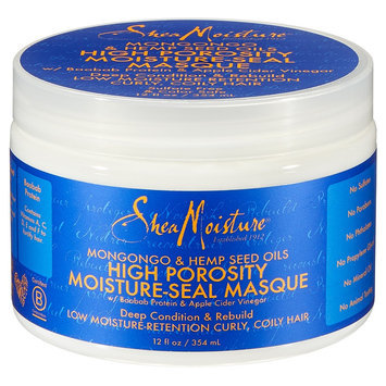 Sundial SheaMoisture Mongongo & Hemp Seed Oils High Porosity Moisture-Seal Masque - 12 oz