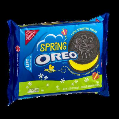 Nabisco Oreo Sandwich Cookies Spring Chocolate