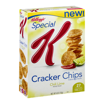 Special K® Kellogg's Cracker Chips Baked Snacks Chili Lime