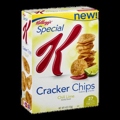 Kellogg's Special K Cracker Chips Baked Snacks Chili Lime
