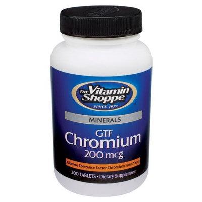 Vitamin Shoppe GTF CHROMIUM
