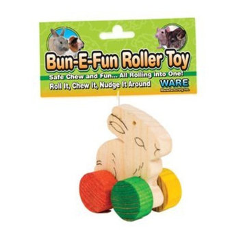 Ware Wood Bun-E-Fun Roller Small Pets Chew Toy