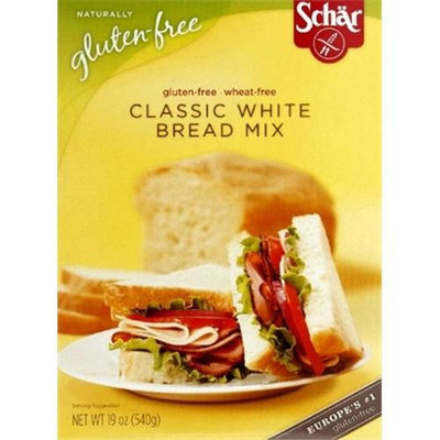 Schar Bread Mix Classic White -Pack of 10