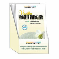 Rainbow Light Protein Energizer Vanilla Case of 8 Packets