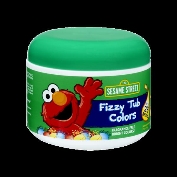 Sesame Street Fizzy Tub Colors