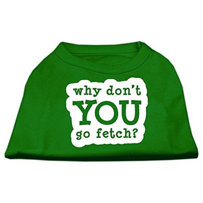 Ahi You Go Fetch Screen Print Shirt Green Med (12)