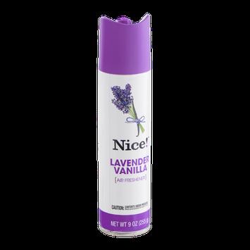Nice! Lavender Vanilla Air Freshener