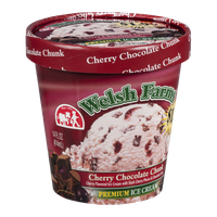 Welsh Farms Premium Ice Cream Cherry Chocolate Chunk
