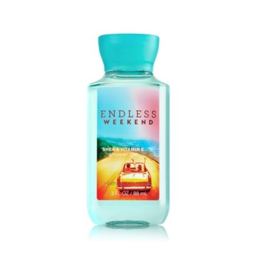 Bath & Body Works ENDLESS WEEKEND 3 OZ SHOWER GEL BATH AND BODY WORKS