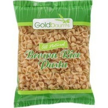 Goldbaums Brown Rice Pasta-Shells, 16 Ounce (Pack of 12)