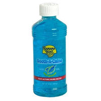 Banana Boat Sooth-A-Caine Aloe Gel, With Lidocaine, 8-Ounce Bottles (Pack of 4)