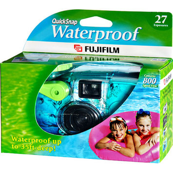 Fujifilm QUICKSNAP-WATER One-Time-Use Underwater 35mm Camera