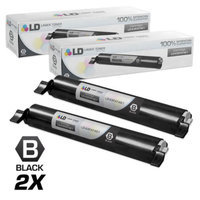 LD Compatible Replacements for Panasonic KX-FAT461 Set of 2 High Yield Black Laser Toner Cartridges for use in Panasonic KX-MB2000, KX-MB2010, KX-MB2030, and KX-MB2061 Printers