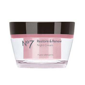 Boots No7 Restore & Renew Night Cream, 1.69 fl oz