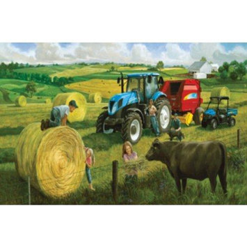 SunsOut: Big Round Baling Day 500pc Jigsaw Puzzle