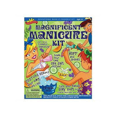 Scientific Explorer Magnificent Manicure Kit Ages 8 and up