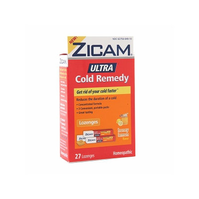 Zicam Ultra Cold Remedy Lozenges