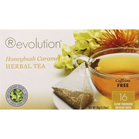 Revolution Tea Honeybush Caramel Tea, Caffeine Free, 16-Count Teabags (Pack of 6)