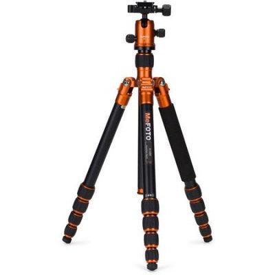Mefoto A1350Q1C Roadtrip Travel Tripod Kit - Orange